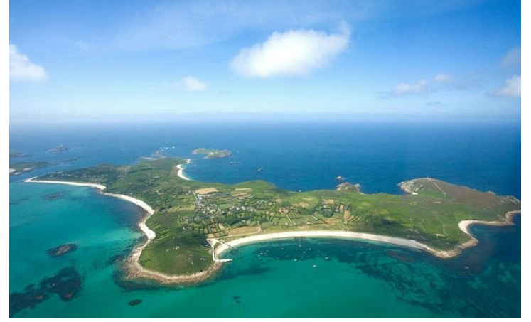 Billy's home - St Martin's in the Isles of Scilly