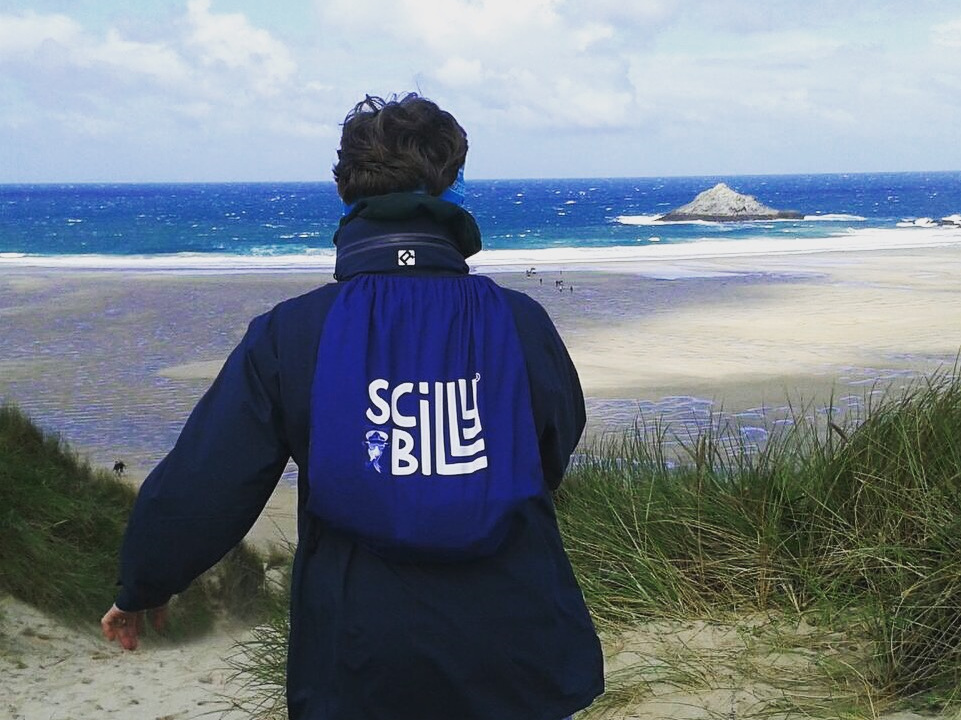 Billy on his travels... Crantock