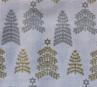 QF067  Christmas Trees - White