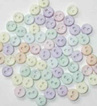 JJ1348   Tiny Buttons - Pastel
