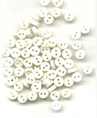 JJ1556  Tiny Buttons - White