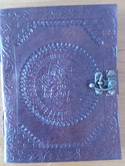 Journal 12  - Journal with Embossed Cover and Simple Lock