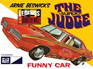 "MPC 1/25 Arnie Beswick ""The Super Judge"" 1969 Pontiac GTO Funny Car"
