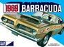 MPC 1/25 1969 Plymouth Barracuda