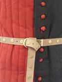 Medieval Belt with Rosette or Quatrefoil Pierced Bar Fittings