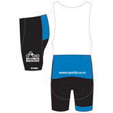 New Plymouth MTB Blue Bibshorts