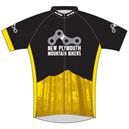 New Plymouth MTB Yellow Cycle Jersey