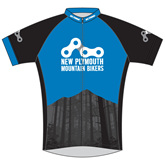 New Plymouth MTB Blue Cycle Jersey