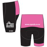New Plymouth MTB Club Pink Shorts