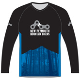 New Plymouth MTB Blue Trail Jersey