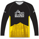 New Plymouth MTB Club Yellow Trail Jersey