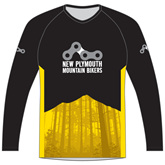 New Plymouth MTB Yellow Trail Jersey