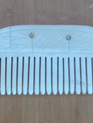 Comb 3 - Bone Comb with Single Row of Teeth