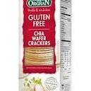 Orgran Chia Wafer Crackers