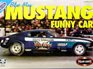 Polar Lights 1/25 Blue Max Ford Mustang Funny Car