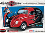 Polar Lights 1/24 Harley Quinn VW Beetle (Snap)