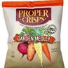Proper Crisps Garden Medley chips