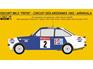 Reji Decal - 1/24 Ford Escort RS 1800 PEPSI - Circuit des Ardennes - Airikkala / Piironen