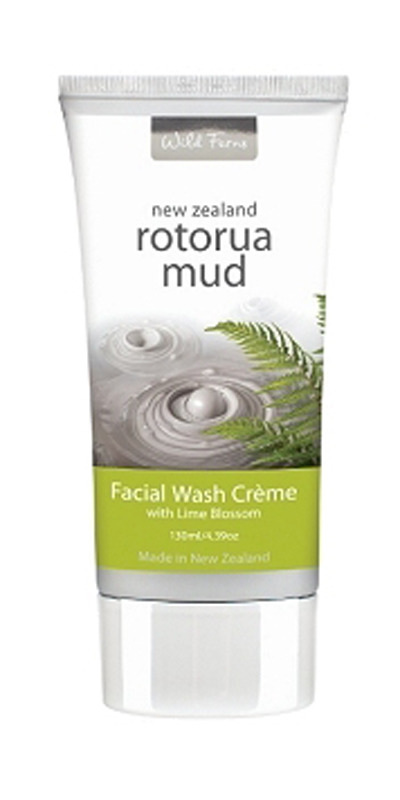 Rotorua Mud Facial Wash Creme
