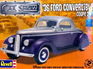 Revell 1/24 36 Ford Convertible/Coupe 2n1
