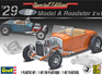 Revell 1/25 29 Ford Model A Roadster 2n1