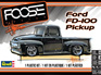 Revell 1/25 56 Ford FD-100 Pickup 'Foose Design'