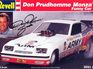 Revell 1/25 1976 Don Prudhomme Army Monza Funny Car (opened)