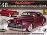 Revell 1/25 48 Ford Custom Coupe 3n1