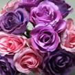 Roses, a dozen in a posy 1007B