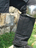 Plate 2 - 13th Century Knee Cops.