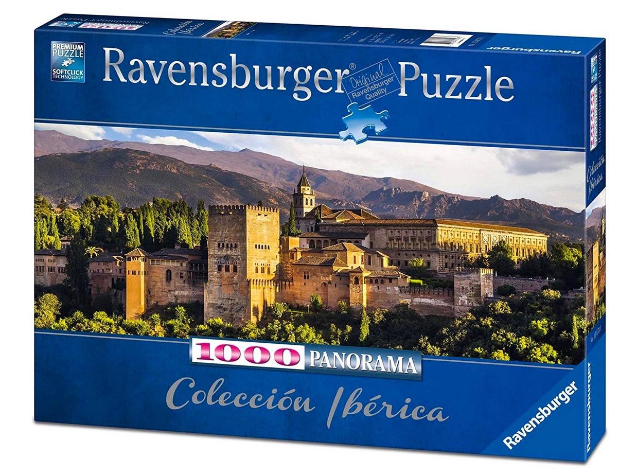 Ravensburger 1000 Piece Jigsaw Puzzle: Alhambra Granada Spain Panorama