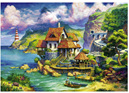 Ravensburger 1000 Piece  Jigsaw Puzzle: The Cliff House