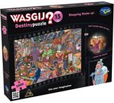 Holdson Wasjig 1000 Piece Jigsaw Puzzle: Shopping Shake Up