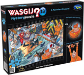 Holdson Wasjig 1000 Piece Jigsaw Puzzle: A Perrrfect Escape