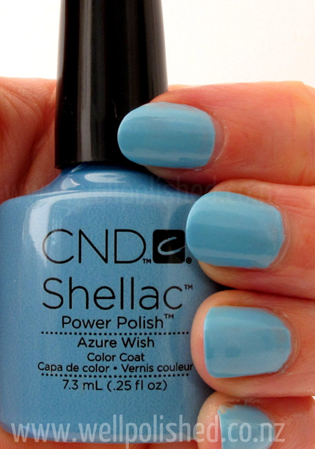 Shellac Azure Wish