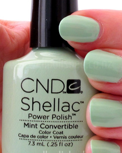 Shellac Minted Convertible