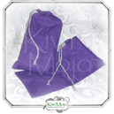 Purple Swirl Print Tarot Bag