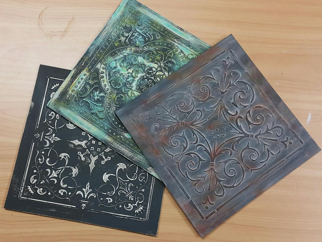 'Tin Tiles'
