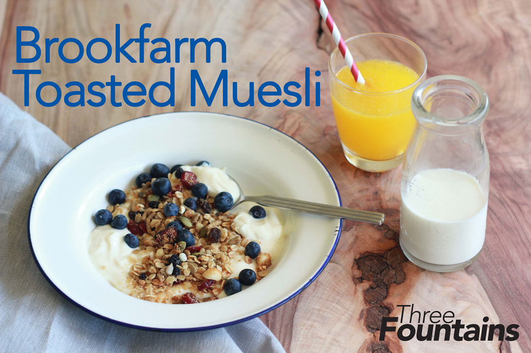 Brookfarm Toasted Museli