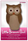 WTC65001  Little Brown Owl