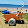Beach Cart - 30cm Balloon Wheels