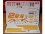 Powerslide 1991-1995 Rusty Wallace Miller Genuine Draft Nascar Decals
