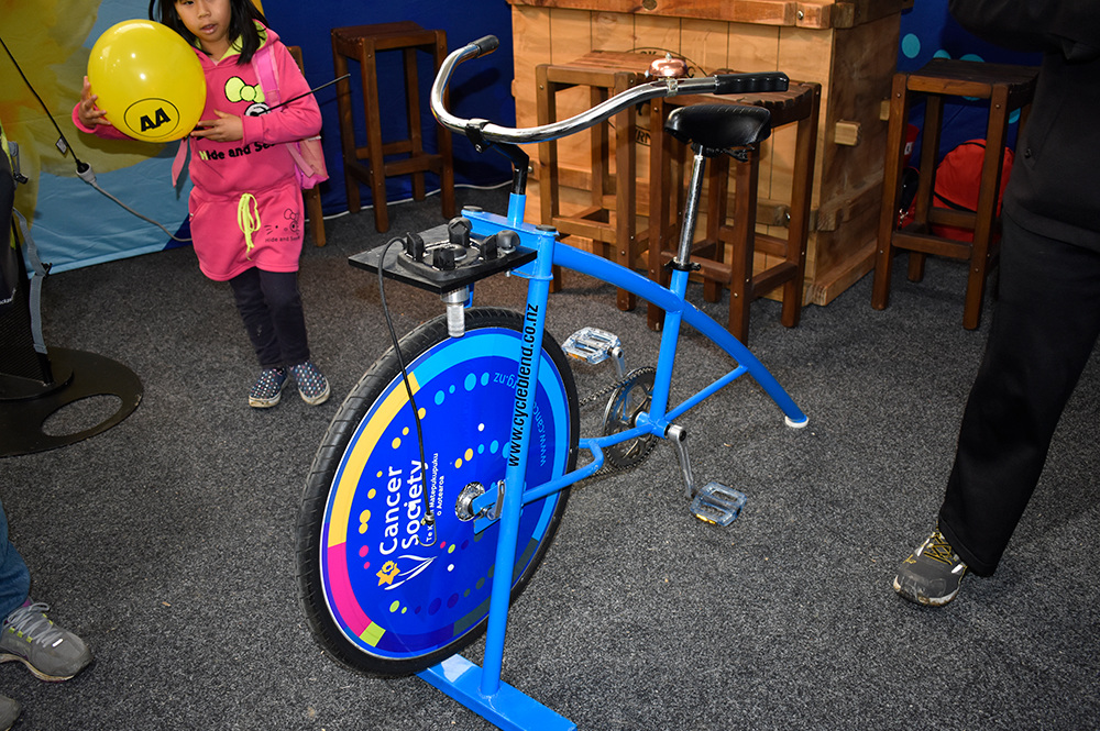 Cancer Society with Cycle Blend bikes
