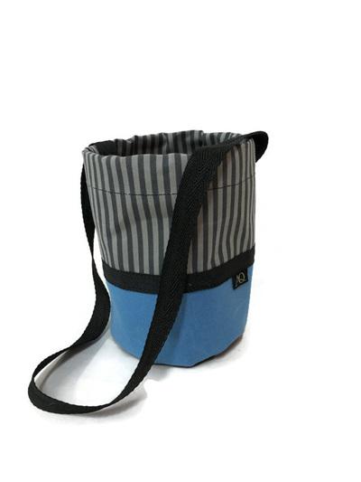 Peg bag - blue grey