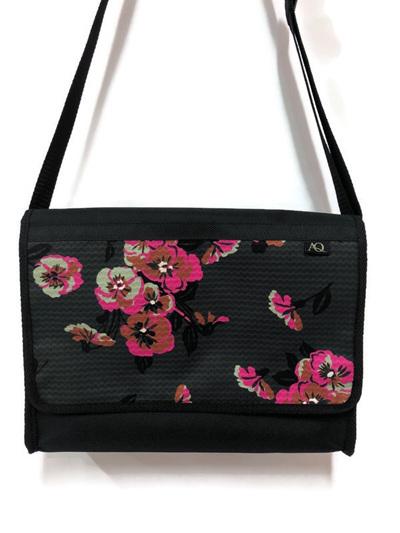 Manta satchel - pink bloom