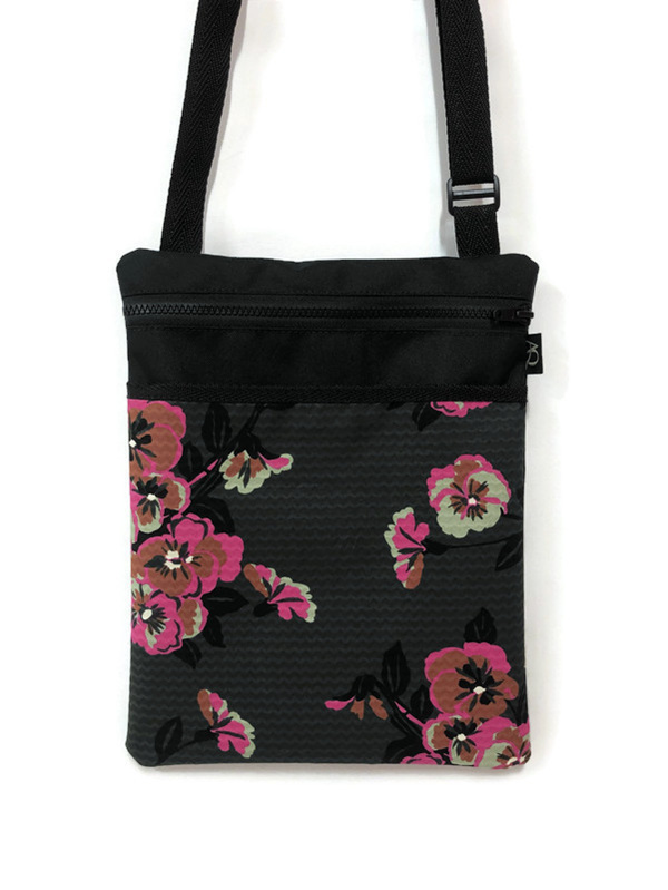 A handbag with personality  - a beautiful fabric and made in Wellington.