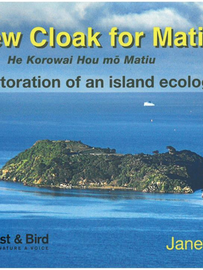 A New Cloak for Matiu - The restoration of an island ecology