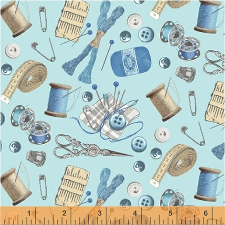 A Stitch in Time Aqua Sewing Essentials 515114
