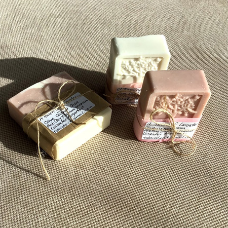 A Touch of Lavender Soap