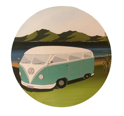 VW Kombi Wall Art NZ12